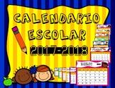 Calendario Escolar 2017-2018 en Español / School Calendar