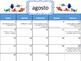 Calendario Escolar Finding Dory 2016-17