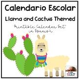 Calendario Escolar (Spanish Calendar)