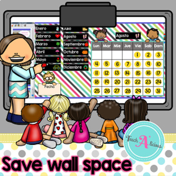Calendario Interactivo para ActivInspire (Promethean Board)