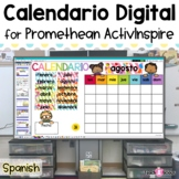 Interactive Calendar | Calendario Interactivo para ActivInspire