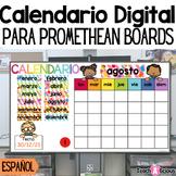Calendario Digital Interactivo para ActivInspire | Spanish