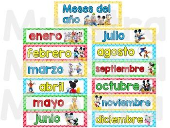 Calendario Mickey Mouse Clubhouse
