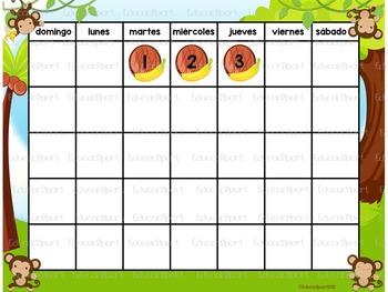 Calendario Monitos