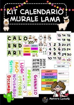 Calendario Murale LAMA