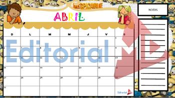 Calendario Para Imprimir 2016-2017
