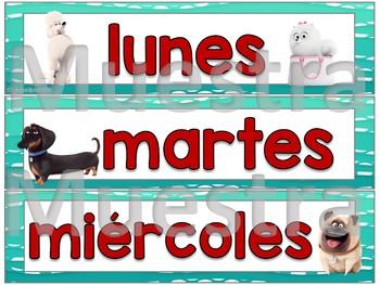 "Calendario ""The Secret life of pets"" (Las Mascotas)"