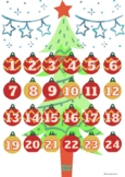Calendario adviento Navidad/ Advent countdown calendar chr