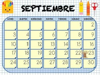 Calendario Din A4.Els Nostres Moments A L Aula D Infantil Teaching Resources
