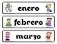 """Calendario con tema de """"Carnaval"""" - Spanish Carnival Calendar Set"""