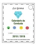 Calendario de Conducta