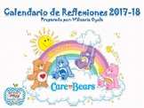 Calendario de Reflexiones/Escolar 2017-18 Care Bears