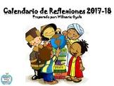 Calendario de Reflexiones/Escolar 2017-18 ESTUDIOS SOCIALE