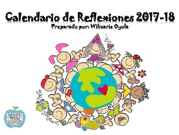 Calendario de Reflexiones/Escolar 2017-18 Fulanitos