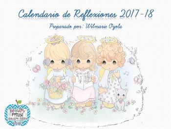 Calendario de Reflexiones/Escolar 2017-18 Precious Moments ANGELS