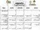 Calendario de Reflexiones/Escolar Melonheadz Científicos  2017-18