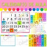 Calendario de aula - Colour me Confetti