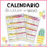 Calendario de retos - Mayo
