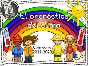 Poster Calendario 2020.Calendario Del Clima Tracking Weather Spanish 2019 2020