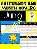 Calendario editable y portadas meses. Calendar and Months