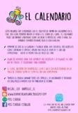 Calendario en español