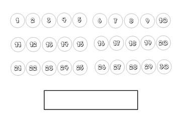 Calendario matematico