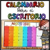 Calendario para el Escritorio | Desk Calendar in Spanish