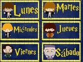 Calendario para la clase de HARRY POTTER en español