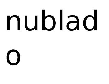 Calendario words plus interrogatives - printable  (SPANISH)