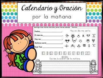 Calendario y Oración Por La Mañana