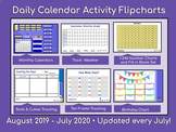 Calendars and Daily Math - Activboard August 2019 through
