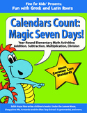 Calendars Count: Magic Seven Days!