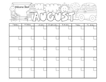Calendars:  All 12 months (+ 4 alternatives): Horizontal! Color & B&W