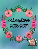 Calendars - Teacher Binder