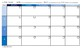 Calendars and Planning Page Large 8.5x14 Legal Size Format