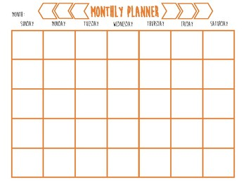 Calendars and Weekly Lesson Planner