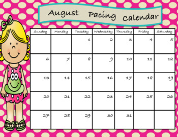 Updated Calendars for 2017-2018 (Easy to Edit)