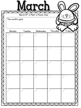 Calendars for the Primary Grades