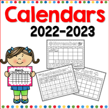 Calendars for the Year (2017-2018)