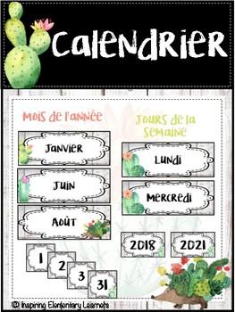 Calendrier CACTUS