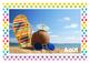 Calendrier - Mois de l'année - Photos - Tableau mureaux - Polka dots multi