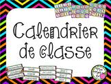 Calendrier de classe - Rentrée scolaire  (Back to School Calendar)