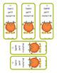 Calendrier et étiquettes (thème des monstres)