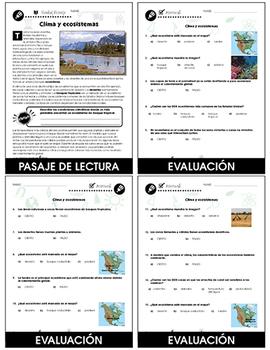 Calentamiento Global: Efectos: Clima y ecosistemas Gr. 5-8