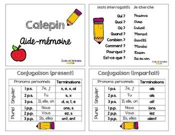 Calepin aide-mémoire
