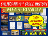 California 4th Grade Social Studies MEGA Bundle