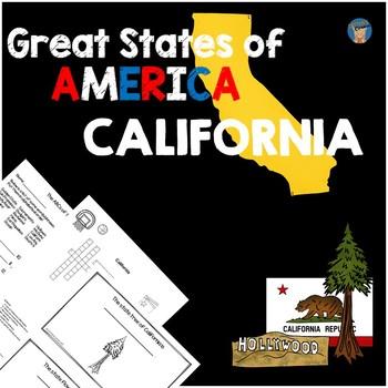 California Activity Packet