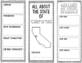 California - State Research Project - Interactive Notebook - Mini Book