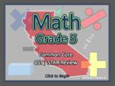 BOGO California CST / STAR Review  - 5th Grade Common Core