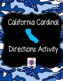 California Cardinal Directions Activity